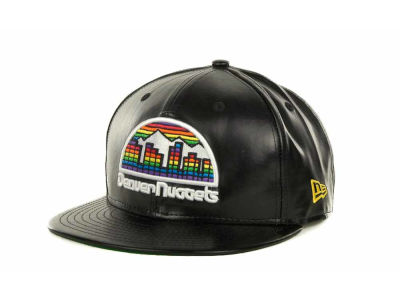 Denver Nuggets NBA Fauxe Snapback 9FIFTY Cap Hats