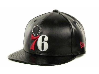 Philadelphia 76ers NBA Fauxe Snapback 9FIFTY Cap Hats