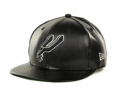 San Antonio Spurs NBA Fauxe Snapback 9FIFTY Cap Hats