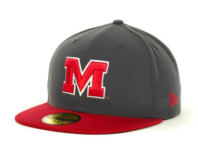 Maryland Terrapins NCAA 2 Tone Graphite and Team Color 59FIFTY Hats