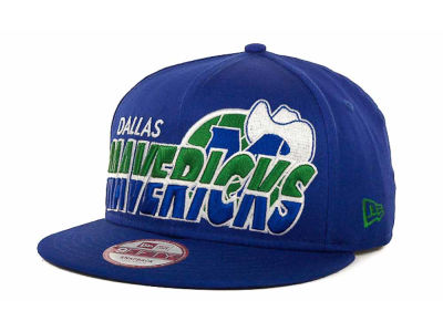 Dallas Mavericks NBA Hardwood Classics Team Horizon Snapback 9FIFTY Cap Hats