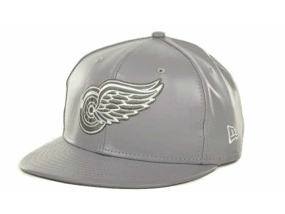 Detroit Red Wings NHL Fauxe Snapback 9FIFTY Cap Hats