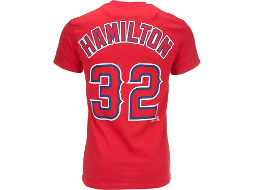 Los Angeles Angels of Anaheim Josh Hamilton Majestic MLB Youth Player T-Shirt