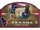 Houston Texans Wincraft 11x17 Wood Sign Flags & Banners