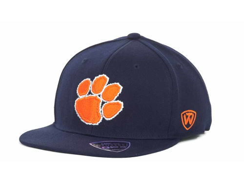 Clemson Tigers Top of the World NCAA Slam One-Fit Cap Hats