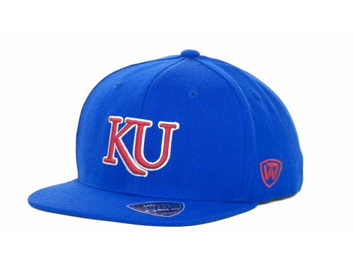 Kansas Jayhawks Top of the World NCAA Slam One-Fit Cap Hats