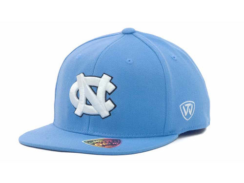 North Carolina Tar Heels Top of the World NCAA Slam One-Fit Cap Hats