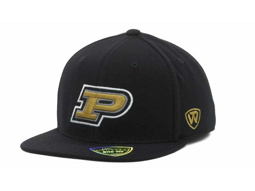Purdue Boilermakers Top of the World NCAA Slam One-Fit Cap Hats