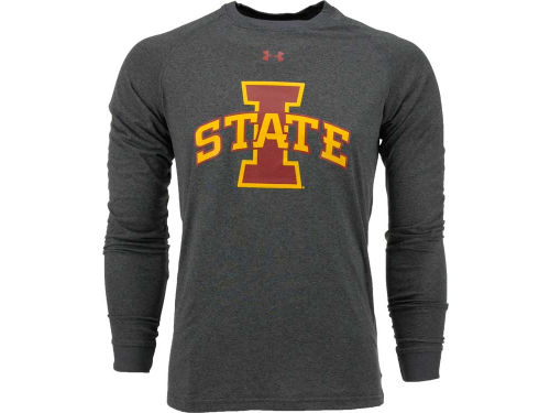 Iowa State Cyclones Under Armour NCAA UA NuTech Logo Long Sleeve T-Shirt