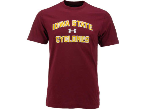 Iowa State Cyclones Under Armour NCAA UA Charged Cotton T-Shirt