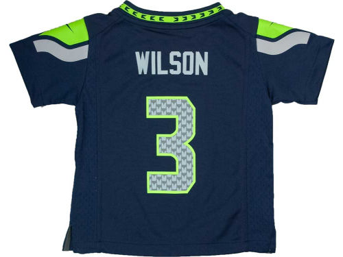 Seattle Seahawks Russell Wilson Nike NFL Toddler Game Jersey