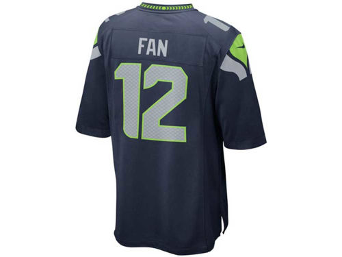Seattle Seahawks Fan #12 Outerstuff NFL Kids Game Jersey