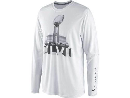 Super Bowl XLVII Nike NFL Super Bowl XLVII Legend Long Sleeve T-Shirt