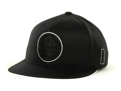 Brooklyn Nets adidas 2012-2013 NBA Tonal Flat Flex Cap Hats