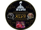 Super Bowl XLVII Rico Industries Super Bowl XLVII Round Vinyl Decal Bumper Stickers & Decals