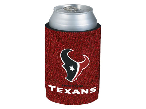 Houston Texans Glitter Can Coozie