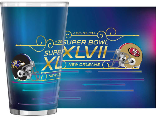 Super Bowl XLVII Boelter Brands 16oz. Sublimated Pint