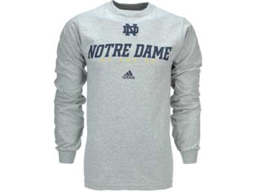 Notre Dame Fighting Irish adidas NCAA Base Stealer Long Sleeve T-Shirt