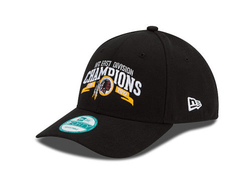 Washington Redskins New Era NFL 2012 Division Champs 9FORTY Cap Hats