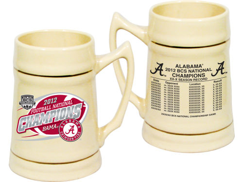 Alabama Crimson Tide 2013 BCS NC 24oz Stein