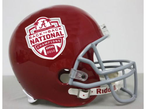Alabama Crimson Tide Riddell 2013 BCS NC Full Size Replica Helmet