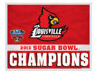Louisville Cardinals Wincraft 2013 Sugar Bowl Champ Ultra Decal Auto Accessories