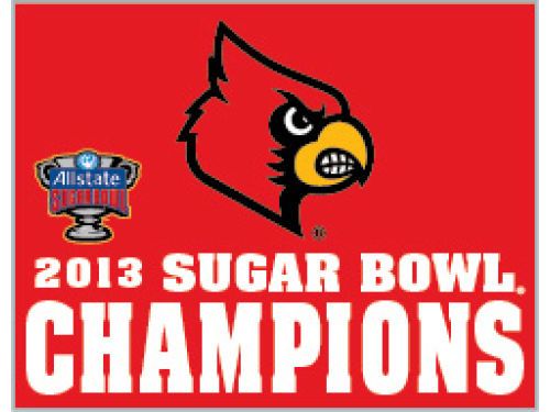 Louisville Cardinals Wincraft 2013 Sugar Bowl Champ Pin