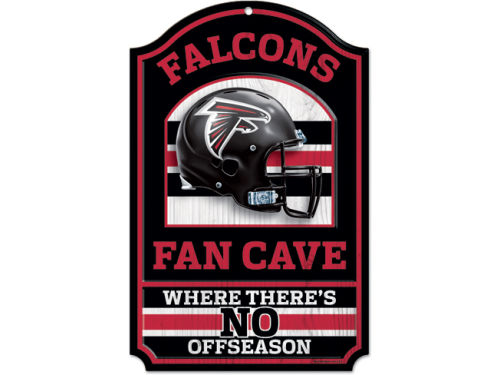 Atlanta Falcons Wincraft 11x17 Wood Sign
