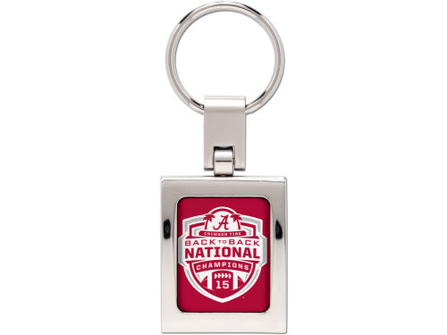 Alabama Crimson Tide Wincraft 2013 BCS NC Domed Metal Keyring