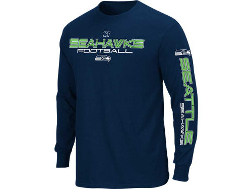 Seattle Seahawks VF Licensed Sports Group NFL Primary Reciever 2012 Long Sleeve T-Shirt