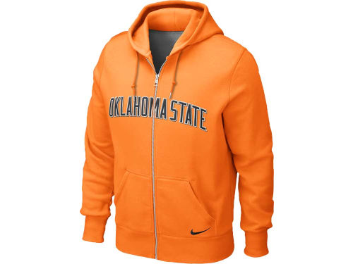 Oklahoma State Cowboys Nike NCAA Classic Full Zip Hooded Sweatshirt