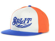 Split Style Snappy Snapback Cap Adjustable Hats
