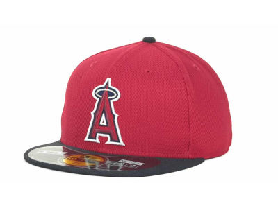 Los Angeles Angels of Anaheim MLB Diamond Era 59FIFTY Cap Hats