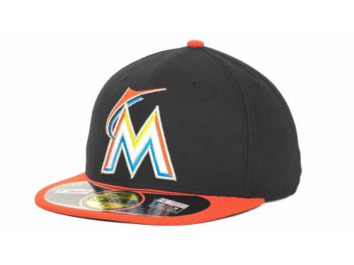 Miami Marlins New Era MLB Diamond Era 59FIFTY Cap Hats