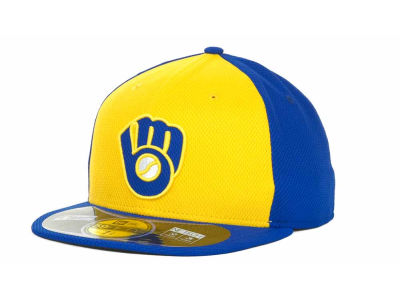 Milwaukee Brewers MLB Diamond Era 59FIFTY Cap Hats