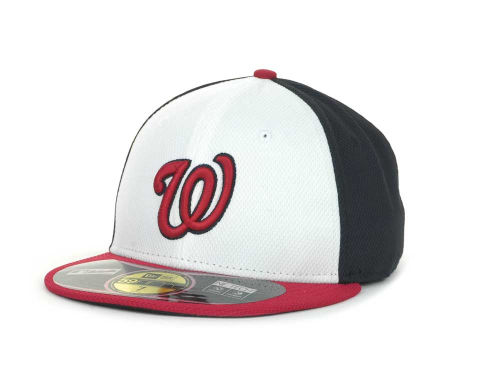 Washington Nationals New Era MLB Diamond Era 59FIFTY Cap Hats