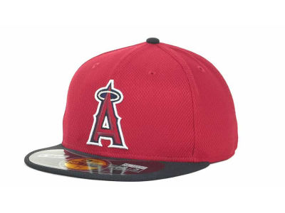 Los Angeles Angels of Anaheim MLB Kids Diamond Era 59FIFTY Cap Hats
