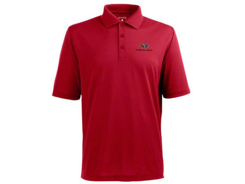 San Francisco 49ers Antigua NFL Super Bowl XLVII Pique Xtra-Lite Polo