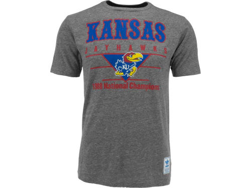 Kansas Jayhawks adidas NCAA Blazing 1988 Champs T-Shirt