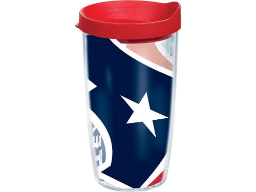 Houston Texans Tervis Tumbler 16oz. Colossal Wrap Tumbler with Lid