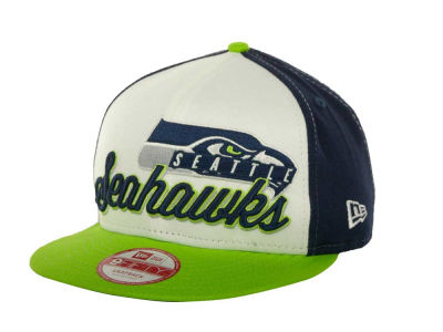 Seattle Seahawks NFL Chriograph Snapback 9FIFTY Cap Hats