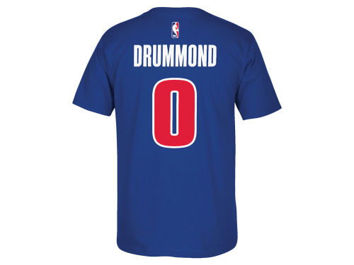 Detroit Pistons Andre Drummond NBA Player T-Shirt