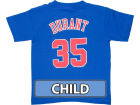 Oklahoma City Thunder Kevin Durant Profile NBA Kids Name And Number T-Shirt T-Shirts