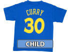 Golden State Warriors Stephen Curry Profile NBA Kids Name And Number T-Shirt T-Shirts