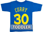 Golden State Warriors Stephen Curry Profile NBA Toddler Name Number T-Shirt T-Shirts