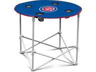 Folding Fabric Round Table Gameday & Tailgate