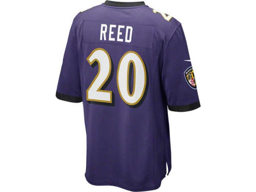 Baltimore Ravens Ed Reed Nike NFL Super Bowl XLVII Game Jersey