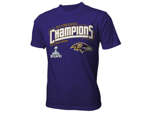 Baltimore Ravens Outerstuff NFL Youth 2012 Conference Champs T-Shirt