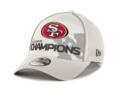 San Francisco 49ers NFL Super Bowl XLVII Conference Champ 39THIRTY Cap Hats
