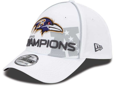 Baltimore Ravens NFL Super Bowl XLVII Conference Champ 39THIRTY Cap Hats